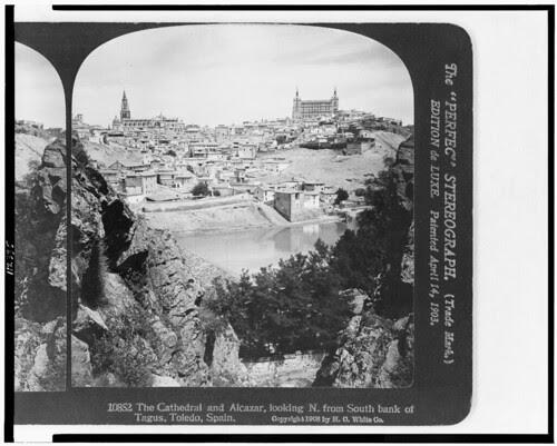 Desde el Tajo. Estudio de Jean Laurent. The Library of Congress of the United States of America