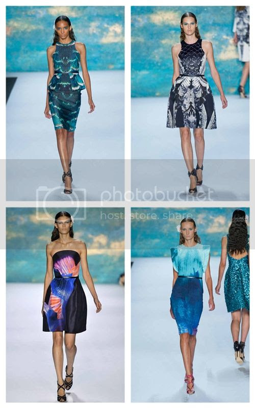 Monique Lhuillier Spring 2013: New York Fashion Week