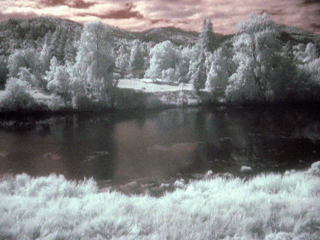 South Umpqua River, Infrared