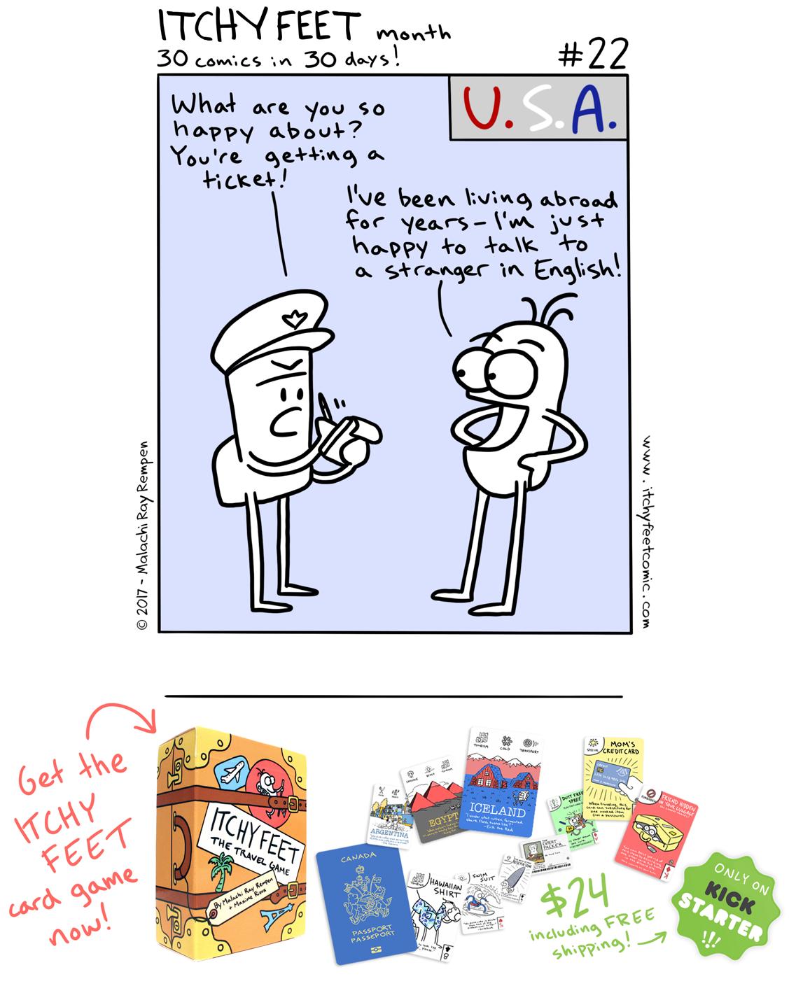 speak english america usa