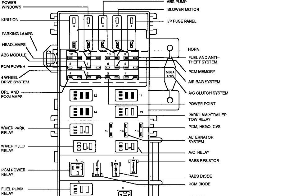 1998 Ford E150 Ignition Module Wiring Diagram