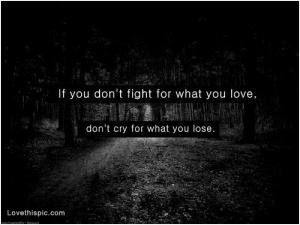 Fight For Love Quote Quote Number 682049 Picture Quotes