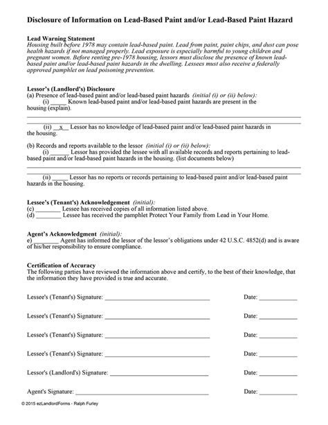 Lease Letterprintable Real Estate Forms