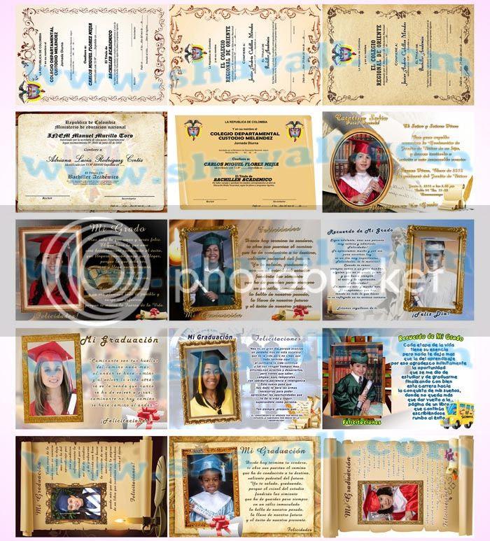 tarjetas leyendas amor diplomas grados