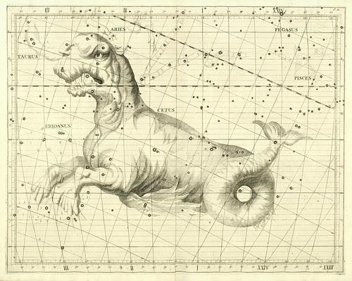 008-Atlas Coelestis 1729- John Flamsteed- University of Michigan Shapiro Science Library