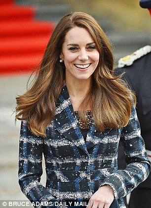 Everyone wants to emulate the Duchess of Cambridge's hair, too