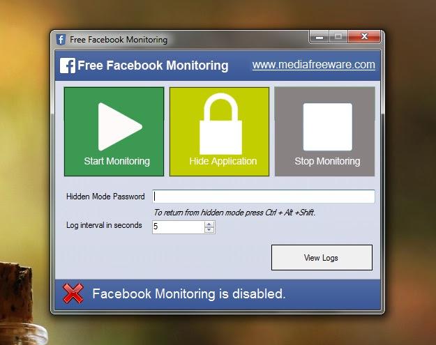 O botão Stop Monitoring para o programa espião (Foto: Reprodução/Marcela Vaz)