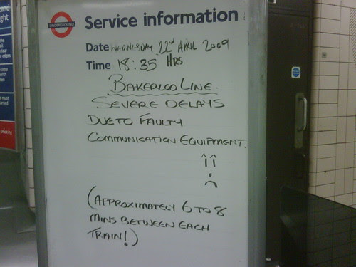 Bakerloo Line at Paddington Station by Terence Eden