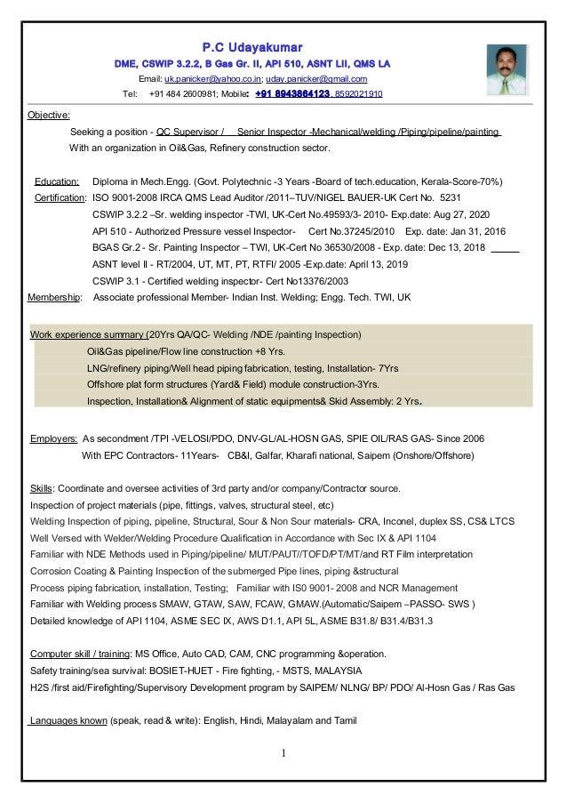 resume srqc inspectormechweldingpaintingpipingpipeline 1 638