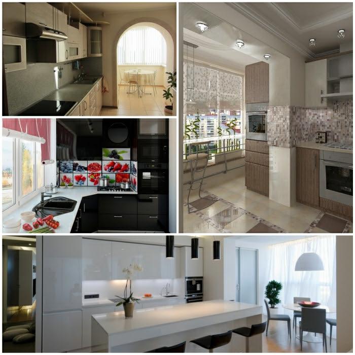 küchengestaltung kleine küche - attraktives wohndesign
