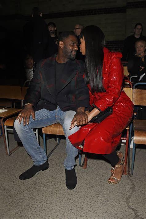 Idris Elba and Sabrina Dhowre   Idris Elba and Fiancee