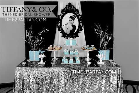 Tiffany & Co. Themed Bridal Shower   Tiffany's Inspired
