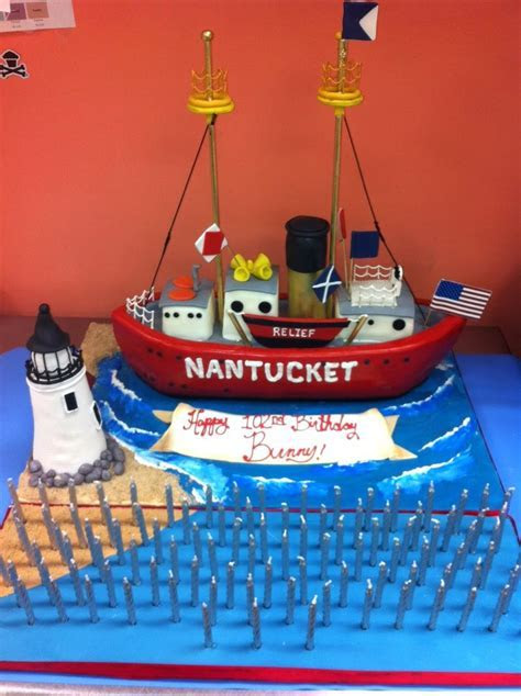 Nantucket Boat Cake