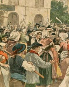 Enfrentamentos em muitas regiões da França como consequência das leis anticatólicas do governo. A polícia invade violentamente a Igreja de Santo Hilário, em Poitiers.