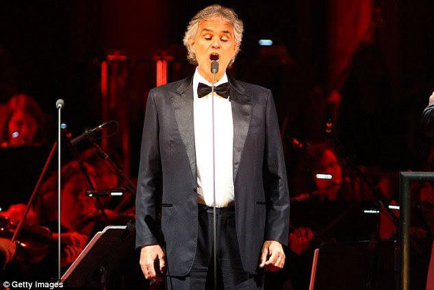 Opera star Andrea Bocelli backed out of singing at Donald Trump's inauguration after receiving death threats