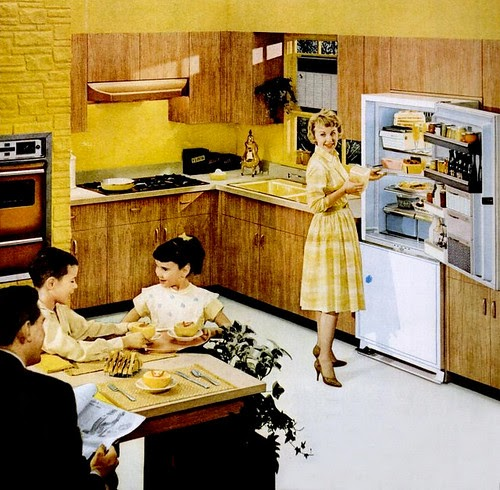 Mid Century Living Kitchens 1960 65