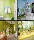 Cozy How To Choose The Color And Wall Decor For Kids Bathroom ...