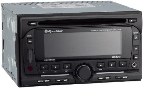 roadstar cd 900usmp autoradio double din mp3 avec lecteur cassette port usb sd 4 x 40 w. Black Bedroom Furniture Sets. Home Design Ideas