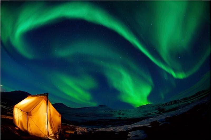 Saiba quais países são perfeitos para ver a Aurora Boreal, clicando na foto!