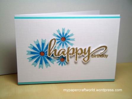 Happy Birthday Sandie, CFC 131, CQ 241, Stamplorations May, W&W JITW May