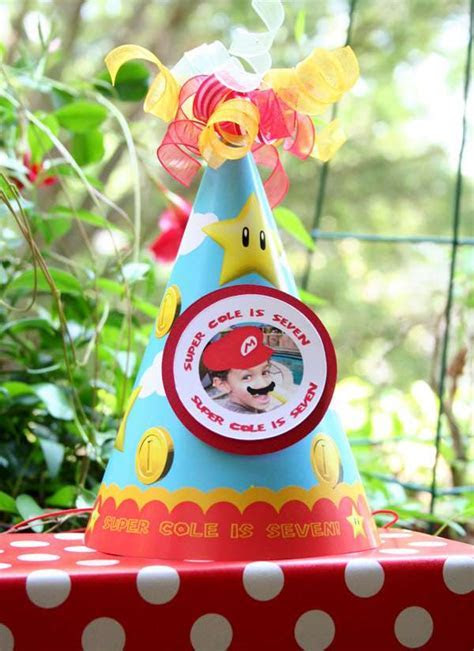 Super Mario Brothers Birthday Party Ideas   Photo 1 of 18