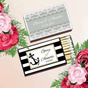 Cheap Personalized Matchboxes, Personalized Wedding