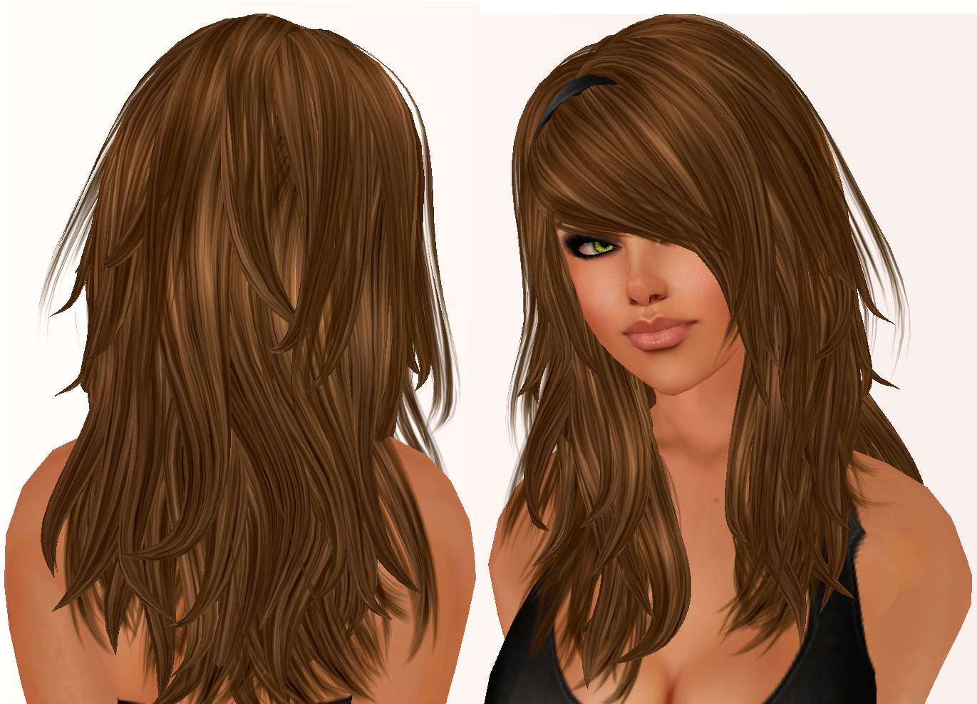 Hairstyles For Long Hair With Layers And Bangs