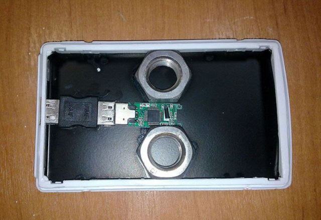 Phony Hard Drive from China