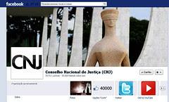 CNJ atinge 4 milhões de usuários no Facebook em apenas uma semana