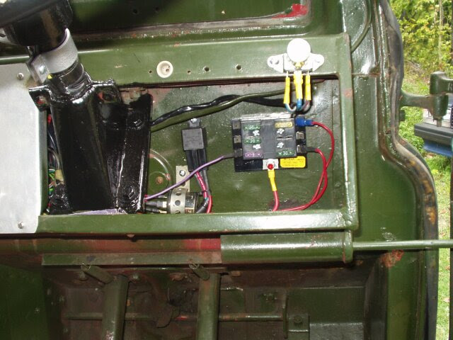 Land Rover Series 3 Fuse Box Wiring