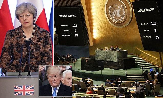UN votes 128-9 to declare Trump's Israel decision 'void'