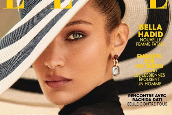 a2f65f78f86a Bella Hadid Really Shines on Two Amazing ELLE France Covers