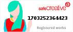 Safe Creative #1703252364423