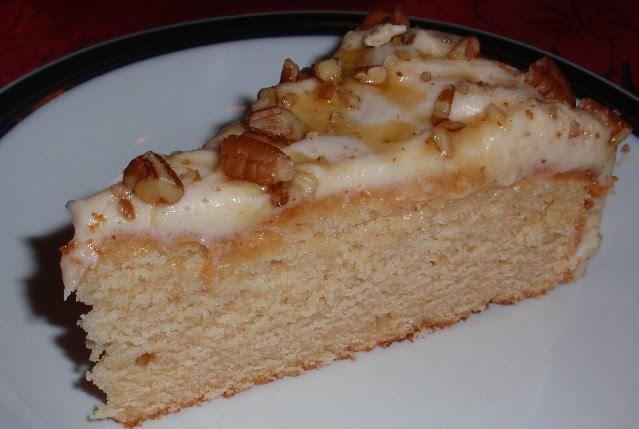 piece of caramel cake
