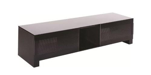 Meubles tv erard bilt 1400 support d 39 cran plat noir for Meuble televiseur ecran plat