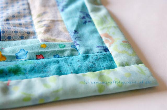 Tutorial: quilt self binding step 18