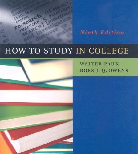 walter pauk how to study in college pdf