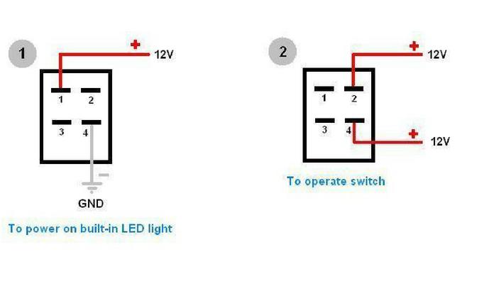 4 Pin Led Wiring Diagram