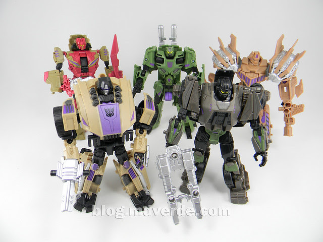 Transformers Bruticus Generations Fall of Cybertron - SDCC Exclusive - Combaticons modo robot