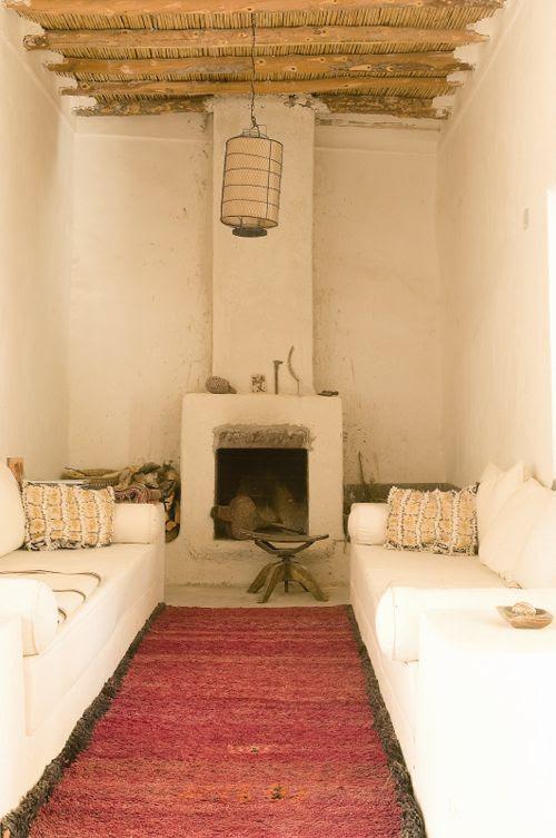 salon cheminée