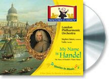 Cover image of My Name is Handel Maestro Classics Review