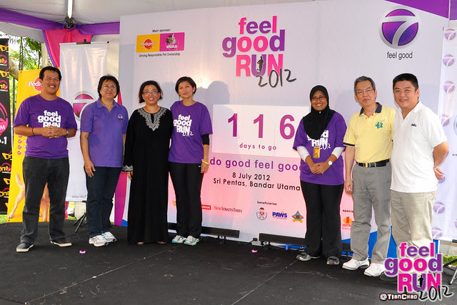 NTV7 Feel Good Run 2012 Press Con | TianChad.com