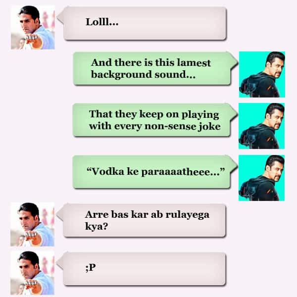 Salman Khan's WhatsApp Review of Humshakals