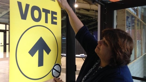 Advance polls in Canada are open throughout Thanksgiving weekend.