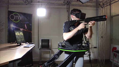 Robert Scoble - Google+ - This is SO fun! Virtuix Omni got turned d