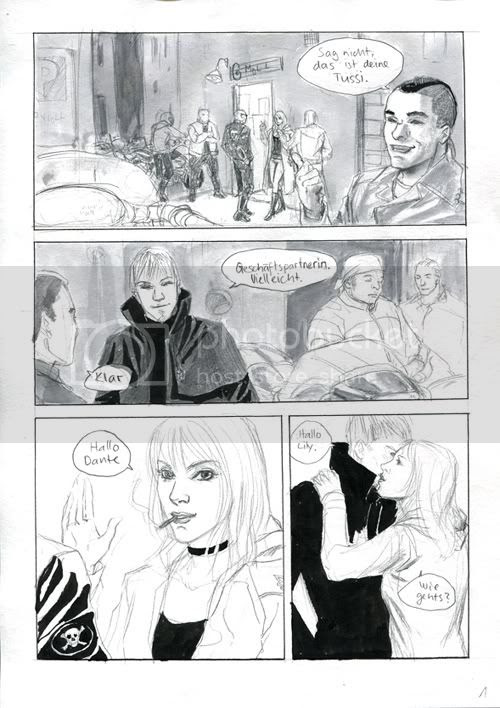 24h Comic Day 2010 Page 1