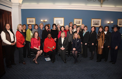 Members of the Women's Caucus for the 112th Congress and its Leadership