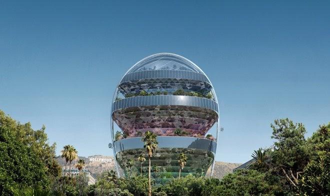 В Голливуде появится необычный «зеленый офис будущего»