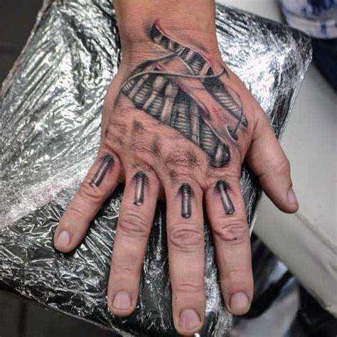 ripped skin tattoo designs men manly torn flesh ink
