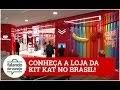 Conheça a Kit Kat Chocolatory, a primeira no Brasil.